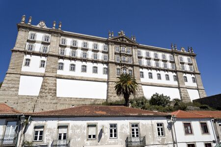 neoclassical: View of the Monastery of Santa Clara, built in neoclassical style in 1777 in Vila do Conde, Portugal
