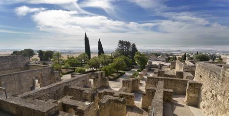 caliphate: The ruins of Medina Azahara, a fortified Arab Muslim medieval palace-city near Cordoba, Spain Stock Photo