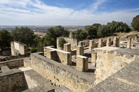 caliphate: The ruins of Medina Azahara, a fortified Arab Muslim medieval palace-city near Cordoba, Spain Editorial