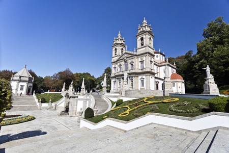 neoclassical: The neoclassical Basilica of Bom Jesus (Good Jesus) in Braga, Portugal
