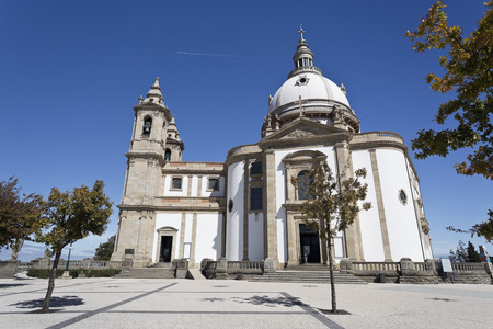 The Sanctuary of Our Lady of Sameiro in Braga, Portugal Stock Photo