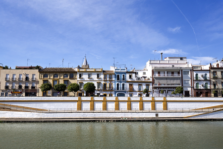 west bank: Famous neighbourhood on the west bank of the Guadalquivir River in Seville, Spain