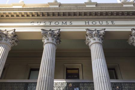 ブリスベン カスタムズ ハウス遺産には、もともと関税のコレクションのため使用され、クイーンズランド州がイギリスのコロニーをだった 1889 年に