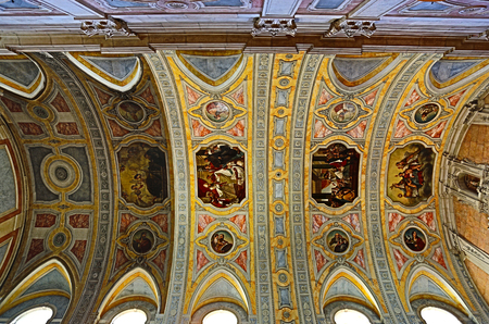 Church of St Nicholas (Sao Nicolau), dated from the early thirteen century, is a beautiful and calm place right in the historical center of Lisbon, Portugal