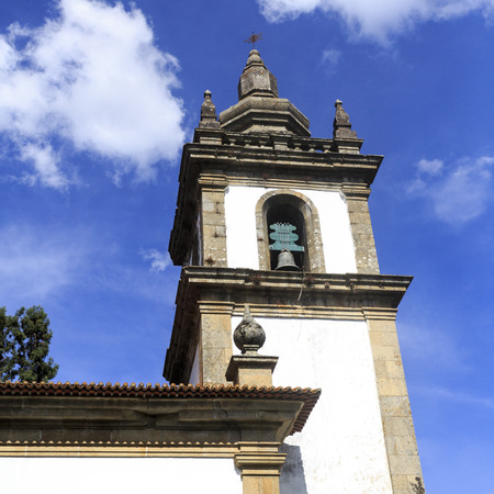 The belfrey of the chapel of the Mateus Palace in Vila Real, Portugal
