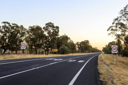 Most New South Wales highways have a speed limit of 110 kmh