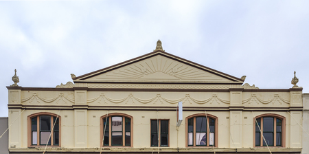 Variety of heritage listed building facades erected in late 19th century to early 20th century in Armidale, NSW, Australia Reklamní fotografie