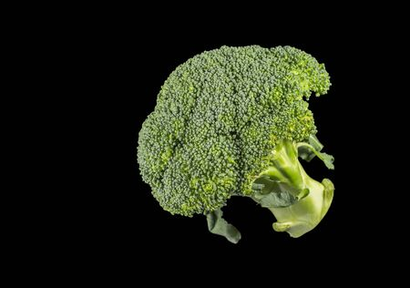 Broccoli is an edible green plant in the cabbage family, Brassica oleracea, whose large flower head and stalk is eaten as a vegetable Imagens