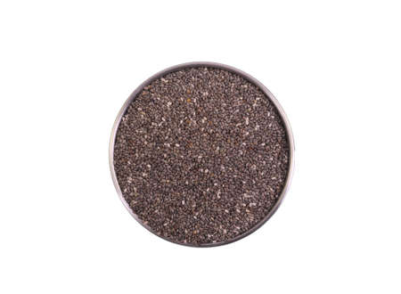 Chia seeds are tiny black seeds from the plant Salvia hispanica, which is related to the mint and were an important food for the Aztecs and Mayans peoples.