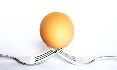 symetry: Egg on the forks