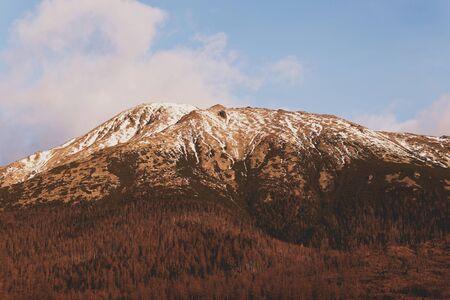 Slavkovskyy stit landscape in Slovakian Tatras