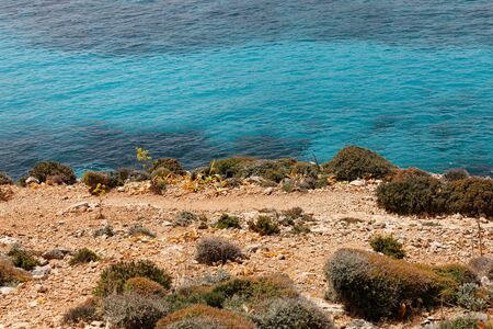 vibrancy: Vibrancy of the golden coast and turquoise transparent waters of Mediterranean sea