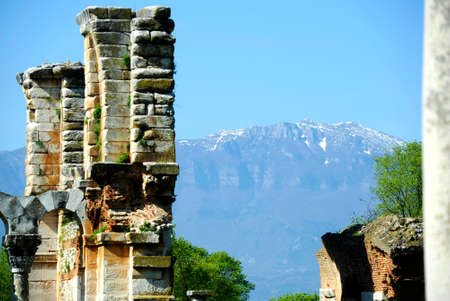 Ancient greece ruins near Kavala