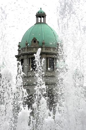 Parliament of Republic of Serbia Stock Photo