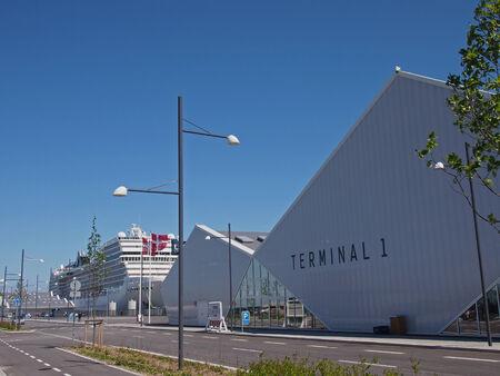 the newly opened terminal 1 of ocean quay in copenhagen denmark