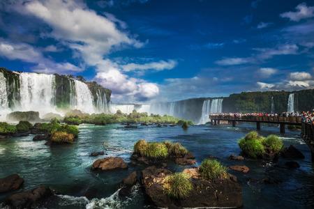 Iguacu Falls, Iguacu-Nationalpark, Wasserfall, Argentinien, Brasilien