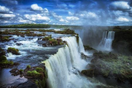 Iguacu Falls, Iguacu National Park, Waterfall, Argentina, Brazil Stock Photo - 43941242