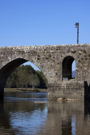 roman bridge of Ponte de Lima in Portugal Stock Photo - 17084771