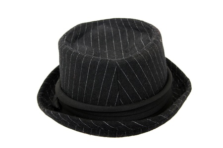 back hat isolated