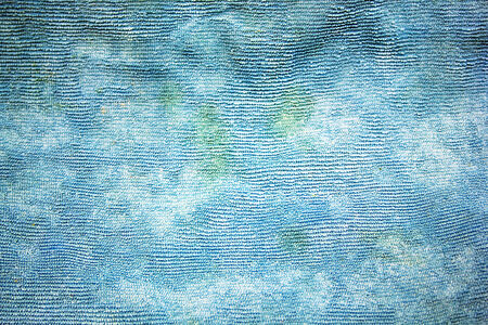 Texture of blue fabric background Stock Photo