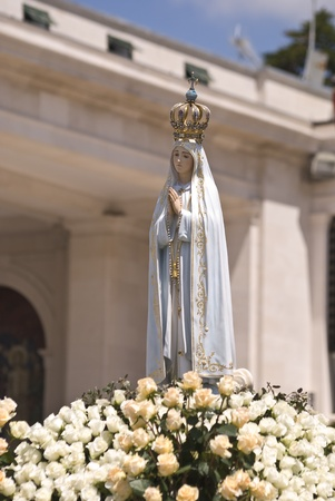 Our Lady of Fatima, Portugal Stock Photo - 8661619