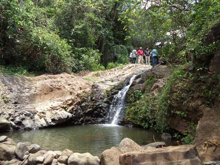 san pedro: Rio San Pedro uxtla Stock Photo