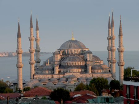 is the Blue Mosque in Istanbul late afternoon Stock Photo - 5953458