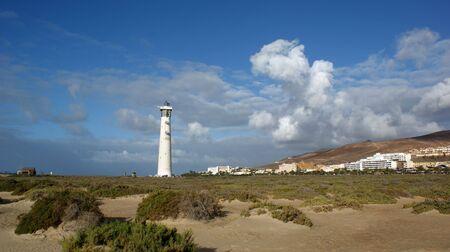 paisaje de las isla Canarias, en concreto de la isla mas al sur, Fuerteventura