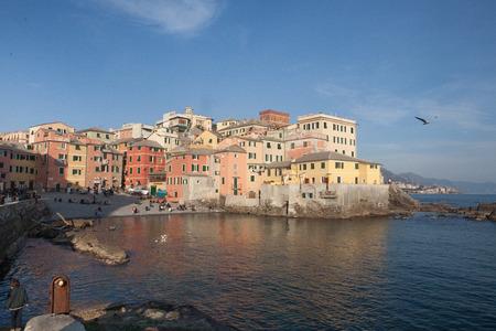 genoa: Boccadasse in Genoa