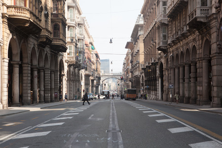 genoa: Via XX Settembre in Genoa Editorial