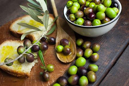 oil of olive: aceite de oliva y pan