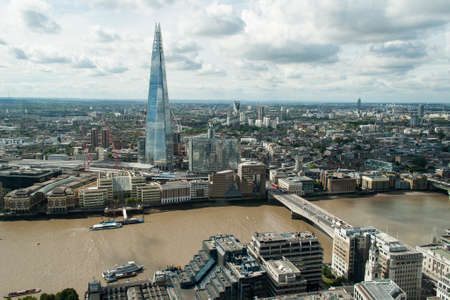 shard: The Shard view from 20 Fenchurch Street Editorial