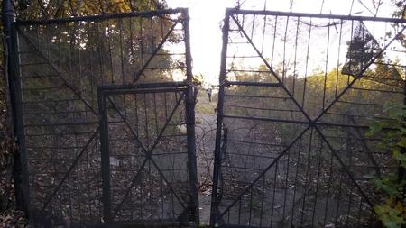 puertas de hierro: Portones de hierro
