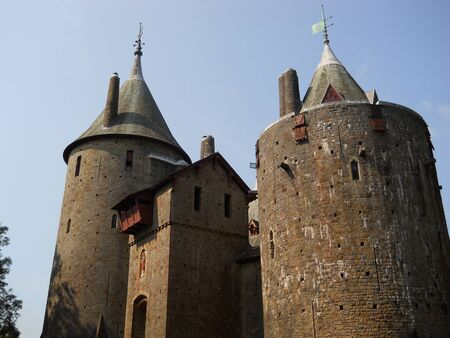 wales: Castell Coch, south Wales