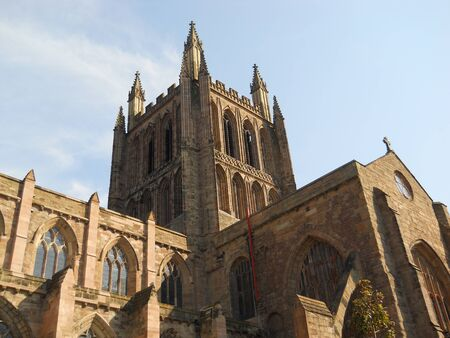 hereford: Hereford Cathedral, England