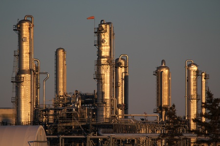 oil and gas industry: A chemicals plant near Fort Saskatchewan, Alberta, Canada