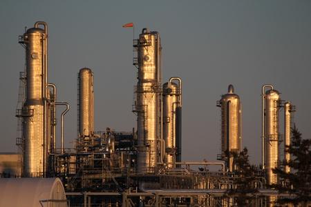 A chemicals plant near Fort Saskatchewan, Alberta, Canada