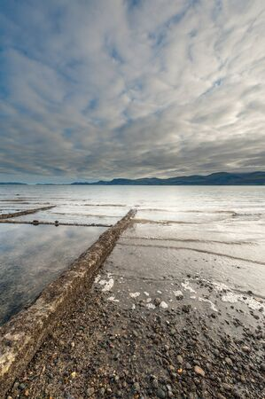 slipway: Coastline Stock Photo