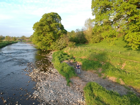 The River Ribble at West Bradford
