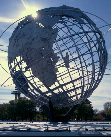 flushing: Earth in flushing park. Stock Photo