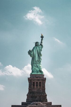 Statue of Liberty from behind Reklamní fotografie