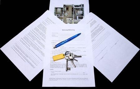 outgoings: Mietvertrag V Rental Agreement