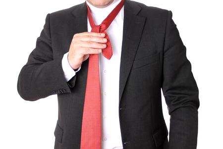 traje sastre: El hombre que llevaba un traje de negocios