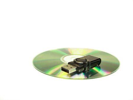 usb memory on a CD
