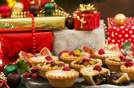 carne picada: Navidad pica las empanadas y regalos