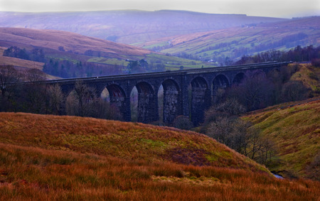 dales: Denthead Viaduct. Yorkshire Dales National Park