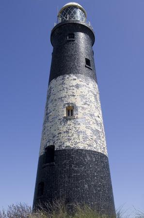 yorkshire and humber: Spurn Peninsula Lighthouse Stock Photo