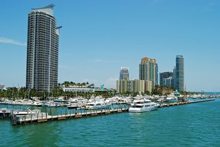 Miami Beach Marina and Condo Development photo