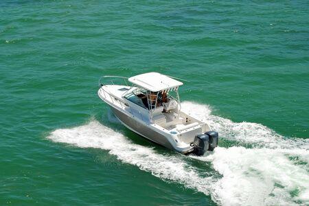 Sport Fishing Boat Banco de Imagens