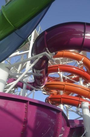 water   slide: Cruise Ship Water Slide